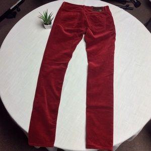 Ralph Lauren Blue Label Pants & Jumpsuits - NWOT Ralph Lauren Blue Label Red Corduroy Size2